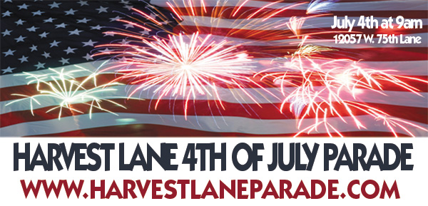 Harvest Lane 4th of July Parade